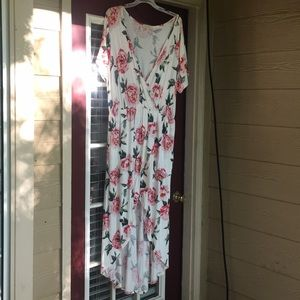 Sweet Pea brand highlow floral dress